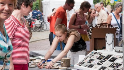Jong Talent op Nationale Zilverdag in Schoonhoven