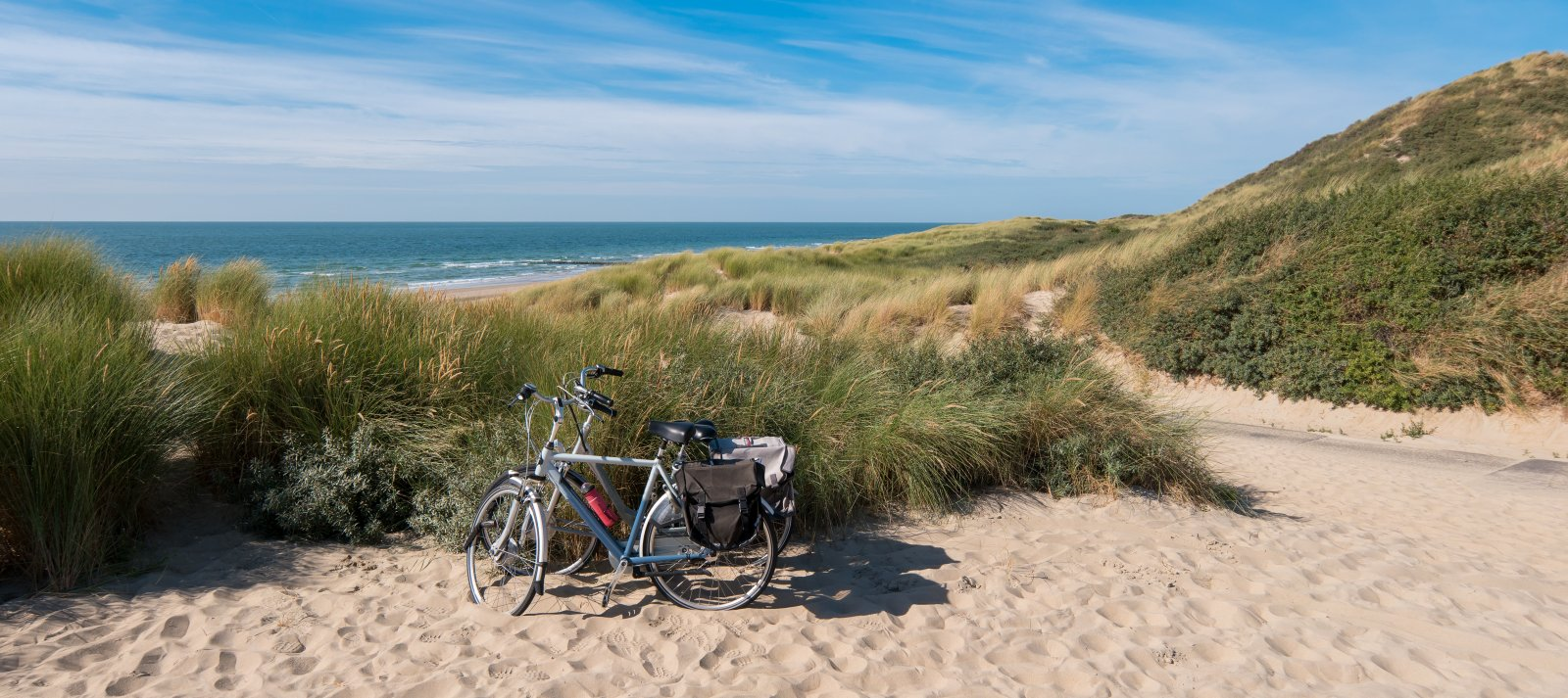 fietsen in duinen
