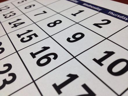 datum plannen