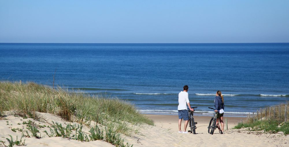 fietstrips langs de hollandse kust