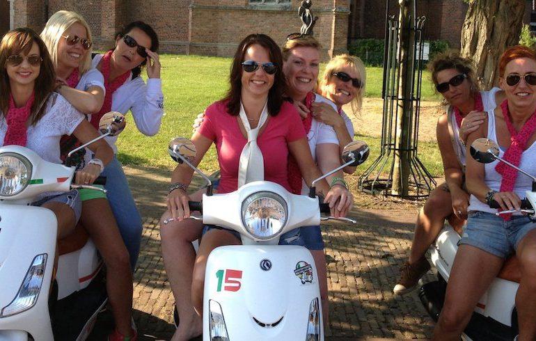 vriendinnenweekend montferland met dagje scooter rijden