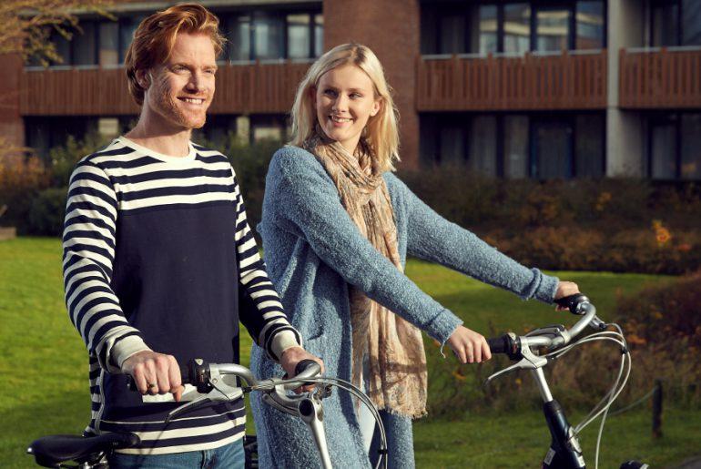 fietstrips op de wadden